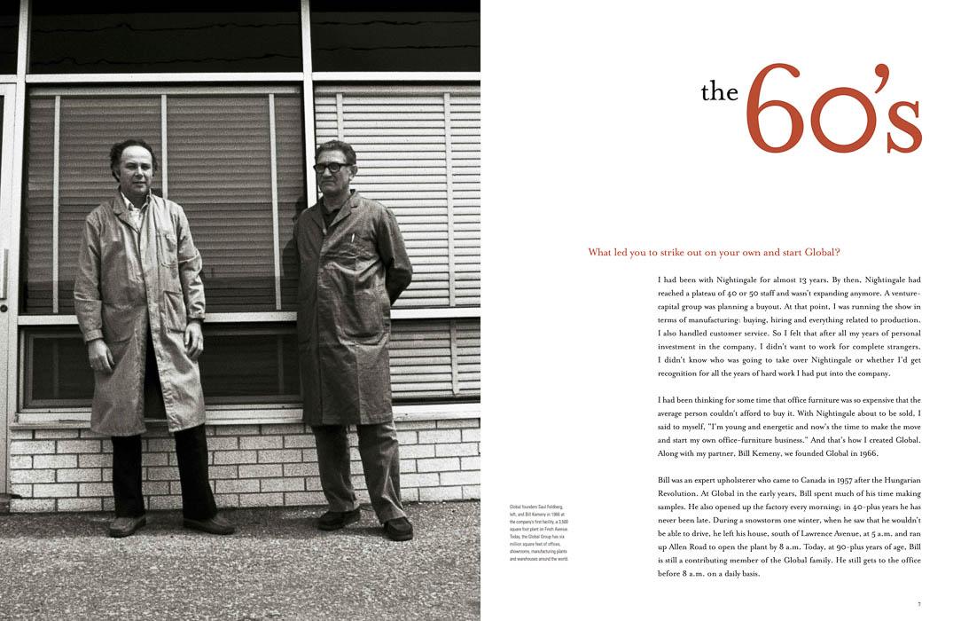 global group company history book 60s